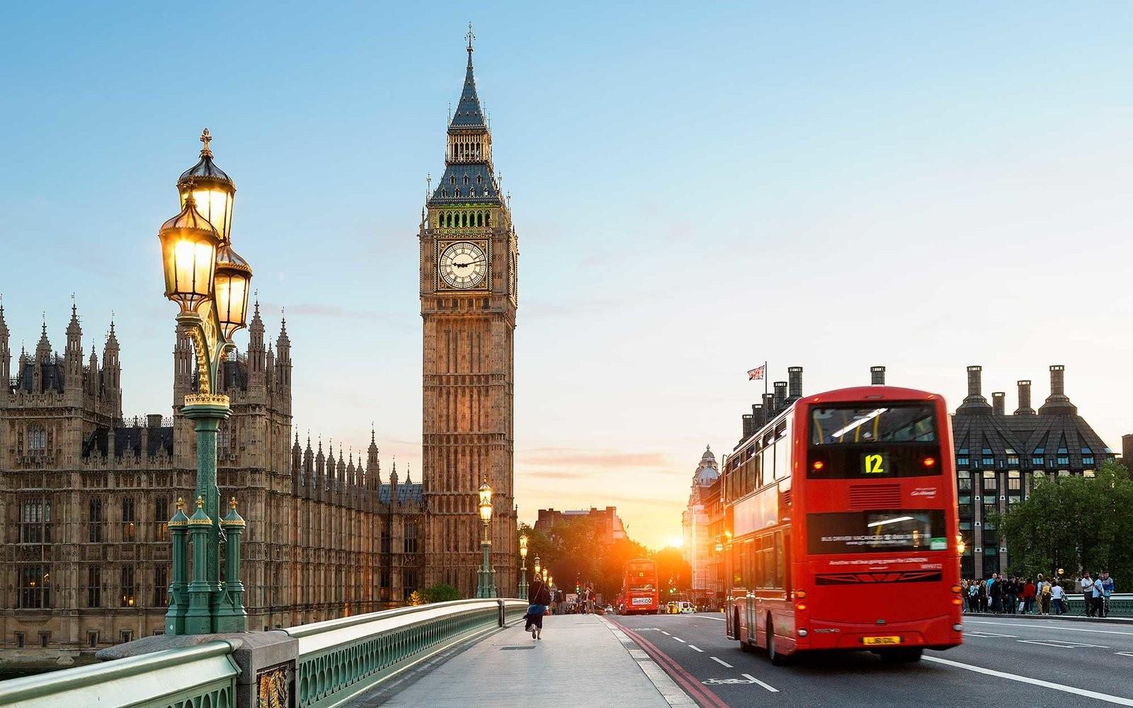 английские города