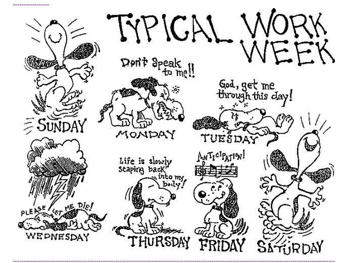 Дни недели в английских идиомах