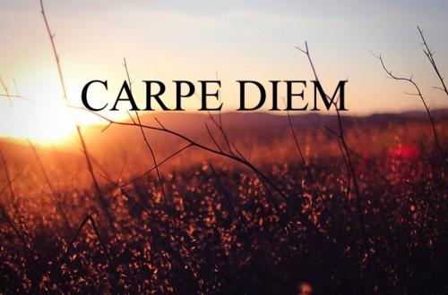 перевод carpe diem
