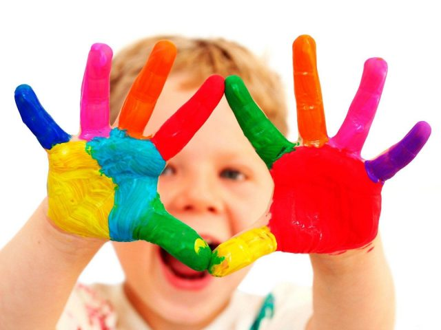 цвета для детей на английском языке
