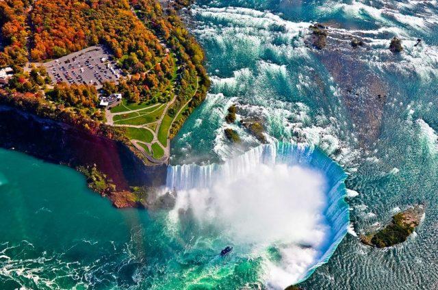 Ниагарский водопад - достопримечательности сша