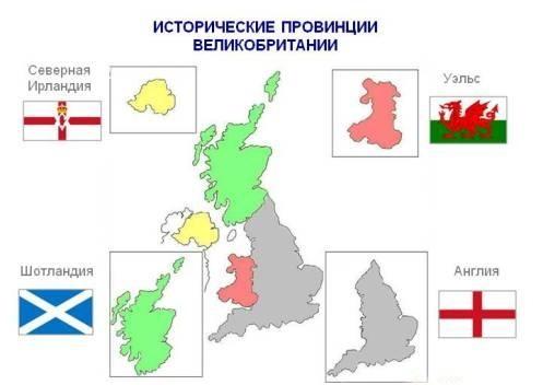 Исторические провинции Великобритании