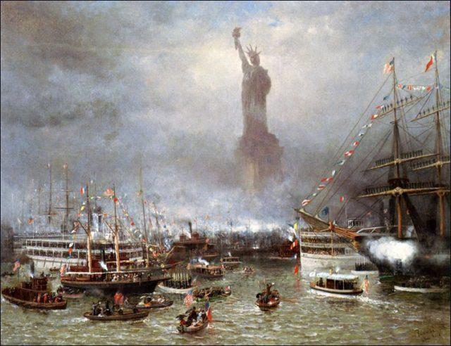 Статуя Свободы - история и факты