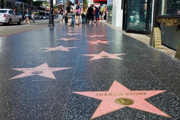Аллея звезд Голливуда - достопримечательности сша