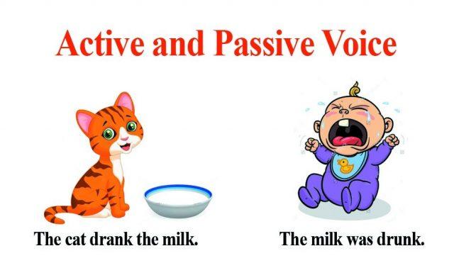 Страдательный залог. The Passive Voice