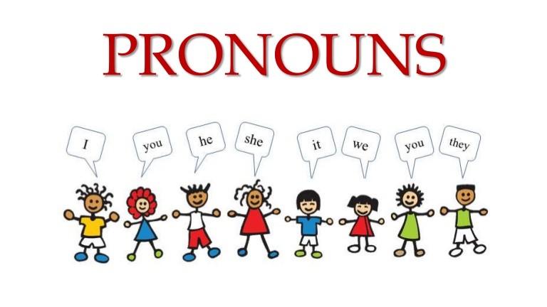 местоимения в английском