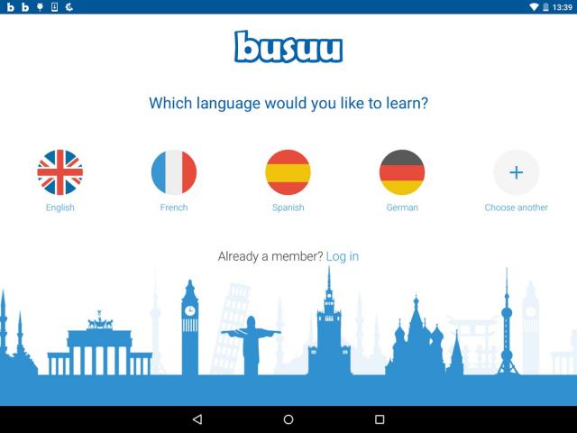 Busuu - приложения для изучения английского языка