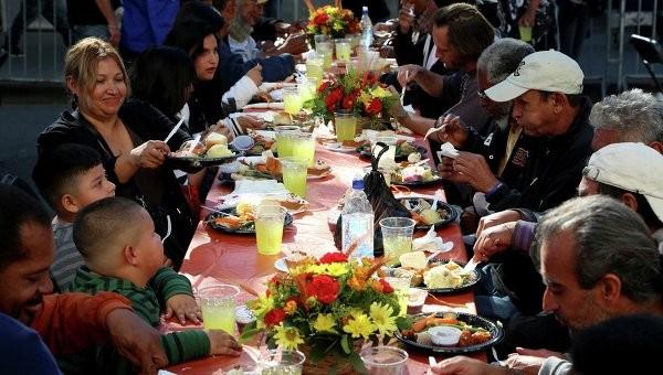 День Благодарения(Thanksgiving Day) - Традиции праздника