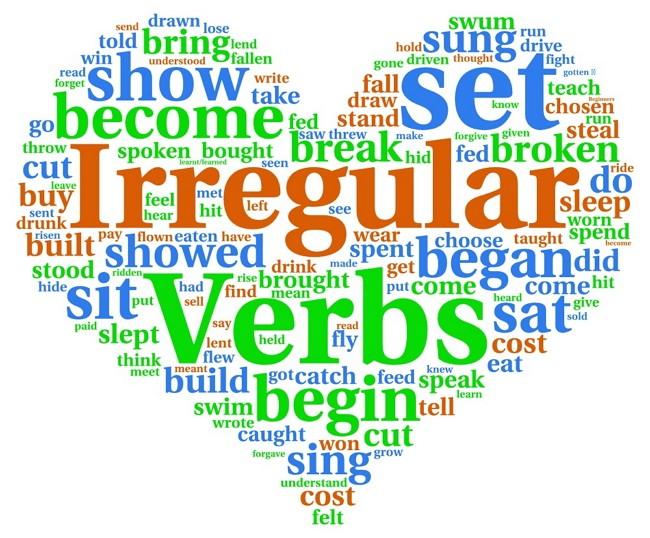 Что такое неправильные английские глаголы