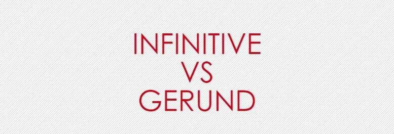 Герундий и инфинитив в английском языке. Gerund and infinitive