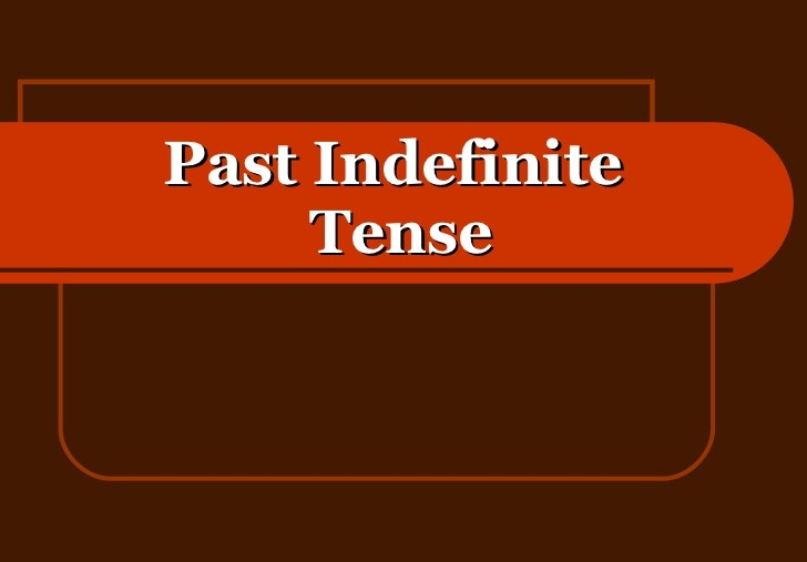 Past Indefinite в английском языке: правило написания и использование