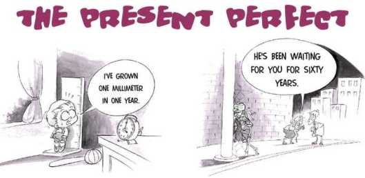 Present Perfect - диалог