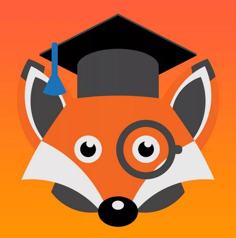 логотип онлайн школы Фоксфорд